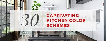 kitchen color combinations ideas 30 captivating kitchen color schemes