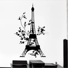 Eiffel Tower Wall Decals Paris Eiffel Tower Wall Sticker Home Decor Paris Eiffel Tower