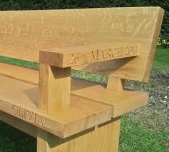 Engraved Garden Benches 21 Best Timber Images On Pinterest Architecture Decking And