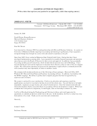 Inquiry Cover Letter 100 Accountant Cover Letter Teacher Position Cover Letter