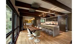 Mid Century Modern Kitchen by Exciting Mid Century Modern Home Renovation Photo Decoration Ideas