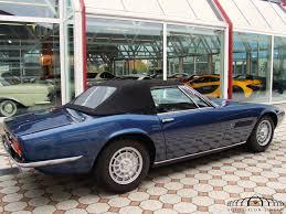 vintage maserati ghibli maserati ghibli spyder 4 7 convertible auto salon singen