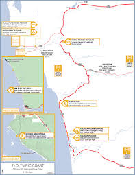 Pacific Crest Trail Washington Map by Washington Highway 101 Road Trip Guide