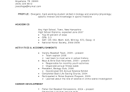 resume templates for high students with no experience singular no experience resume template child acting student job