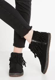 womens ugg chelsea boots ugg shenendoah ankle boots black zalando co uk