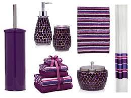 Lavender Bathroom Accessories by Mosaic Bathroom Accessories Sets Home Design Ideas