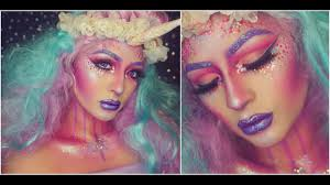 Halloween Unicorn Glitter Unicorn Halloween Makeup Dehsonae Youtube