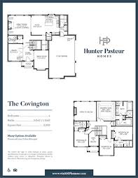Covington Floor Plan Hunter Pasteur Homes Affordable And Luxurious Community Homes In