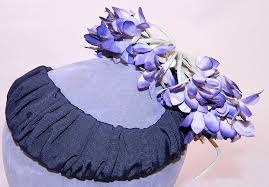silk grosgrain ribbon vintage black silk grosgrain ribbon purple violet flower