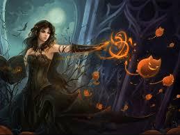 free halloween wallpaper witches wallpapersafari