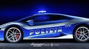 police lamborghini huracan lamborghini palm beach dresses up huracan with polizia livery video