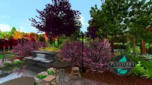 acreage subdivision yard 3d landscape design walkthrough youtube