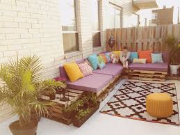 Living Room Pallet Table Finally Finished Our Bohemian Terrace Diy Pallet Furniture And