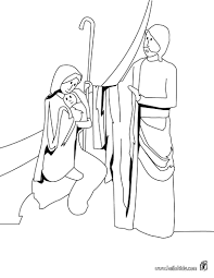birth of jesus coloring pages hellokids com