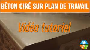 comment faire un plan de travail pour cuisine comment faire un plan de travail en beton cire maison design