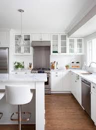 Glossy White Kitchen Cabinets Shaker Kitchen Cabinets Traditional Kitchen Jillian Klaff Homes