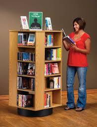 revolving bookshelf