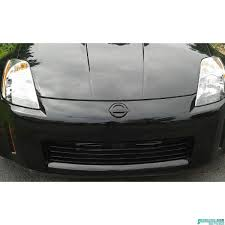 nissan 350z all black nissan 350z front bumper cover 2003 2005 62022 cd025