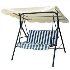 Patio Swing Covers Replacements 75x52 Ivory Swing Canopy Replacement Porch Top Cover Park Seat