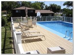 pavers over concrete pool deck decks home decorating ideas