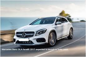 mercedes maker mercedes gla faceliftexpected to launch in india soon
