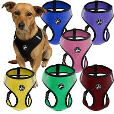 Comfortable Strap On Harness Oxgord Cat Dog Comfort Travel Portable Pet Harness Free