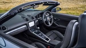 porsche boxster 2017 interior 2016 porsche 718 boxster review fast fun flat