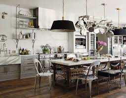kitchen design ideas wall mounted pot rack metal kitchen utensils