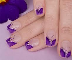 19 creative purple nail art designs