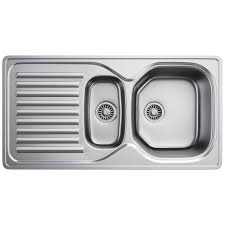Franke Elba ELN  Stainless Steel  Bowl Inset Kitchen Sink - Frank kitchen sink