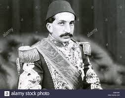 Sultans Of Ottoman Empire Abdul Hamid Ii 1842 1918 34th Sultan Of The Ottoman Empire Stock