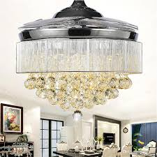 High Quality Chandeliers Ceiling Fan Crystal Chandelier Online Ceiling Fan Lights Crystal