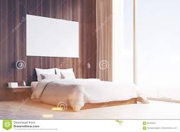 side view of a double bed toned stock illustration image 83722051