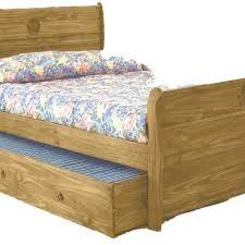 Sleigh Bunk Beds Rustic Bunk Bed W S Mattress