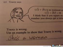 Tracy Meme - why tracy is wrong by serkan meme center