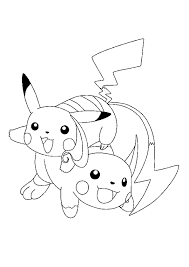 Coloriage Pokemon Salameche Inspirational Pokemon Pikachu Evolution