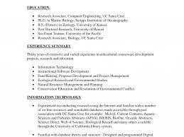 Biology Resume Examples by Molecular Biologist Resume Virtren Com