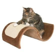 Cat Scratcher Trixie Wavy Plush Scratching Wave Cat Scratcher Hayneedle