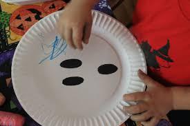 halloween paper plate crafts momeefriendsli