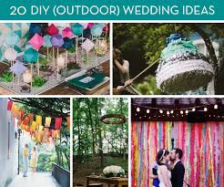 outside wedding decorations roundup 20 amazing diy outdoor wedding ideas curbly