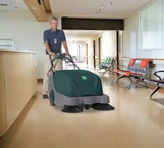 Laminate Floor Sweeper Scout 9 Large Battery Walk Behind Sweeper
