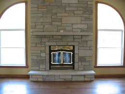 perfect stone fireplace on interior with custom fireplace with