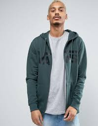vans hi top sk8 white vans classic zip through hoodie in green