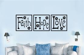 word blocks home decor faith hope love wall decor image collections home wall