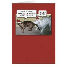 funny dog christmas cards invitations greeting u0026 photo cards