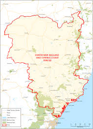 New England Map by Department Of Health Hunter New England And Central Coast Phn