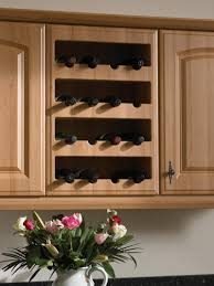 kitchen wine rack ideas wine rack cabinet insert wine rack for kitchen cabinet small home