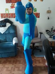 Megaman Halloween Costume Mega Man Cosplay 2 Gaijingoombah Deviantart