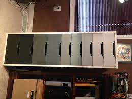 Ikea Alex Cabinet Ikea Alex Drawers Painted Ombre Black Amazing Home Pinterest