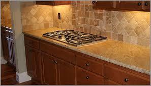 Backsplash For Granite by Tile Backsplash For Golden Oak Cabinets Madura Gold Madura Gold
